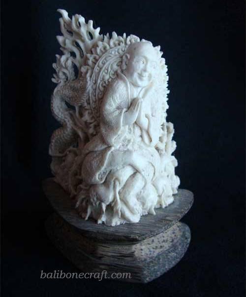 Sculpture-Budha-Dragon
